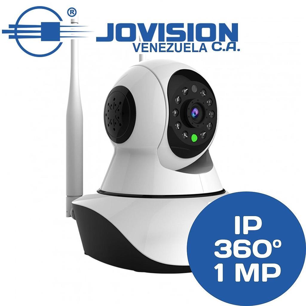 77d75cd88ec Cámara Ip Wifi Robótica Jovision 720p 1mp 360º Giratoria