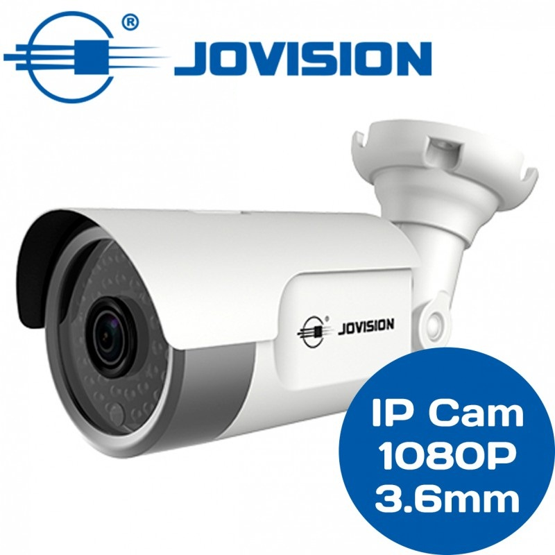 Cámara Bullet Jovision IP 1080p 2mp 3.6mm POE JVSN810
