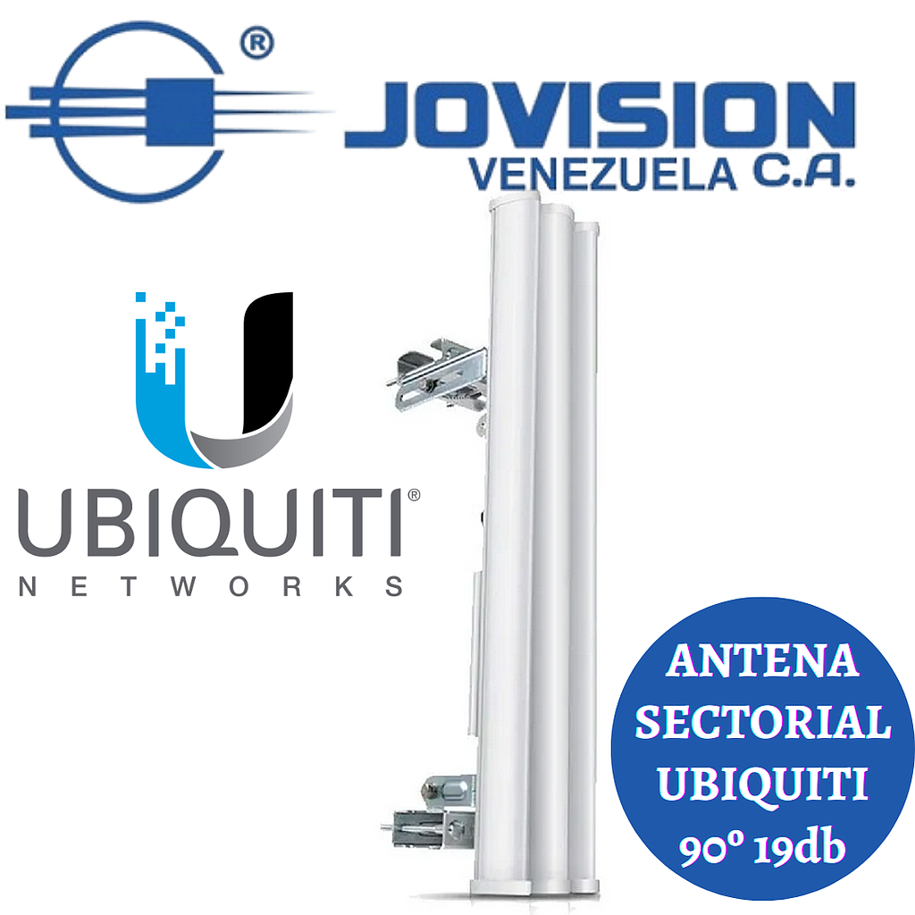 Antena Ubiquiti Sectorial Am-5G19-120 120 Grados 5.8ghz 19db