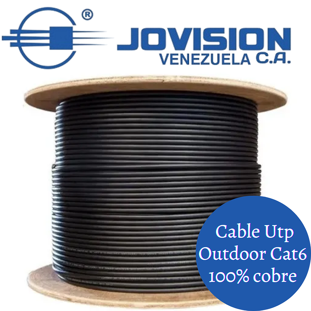 Cable Utp Cat 6 Indoor 70/30 de 305 Mts