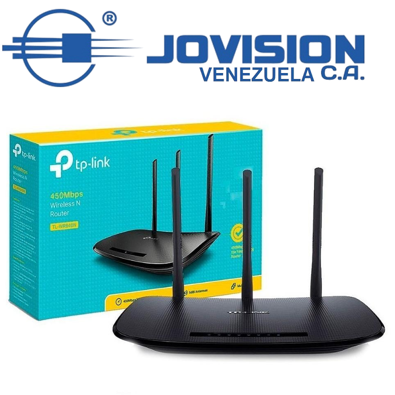 ROUTER TP-LINK TL-WR940N ROMPE MUROS