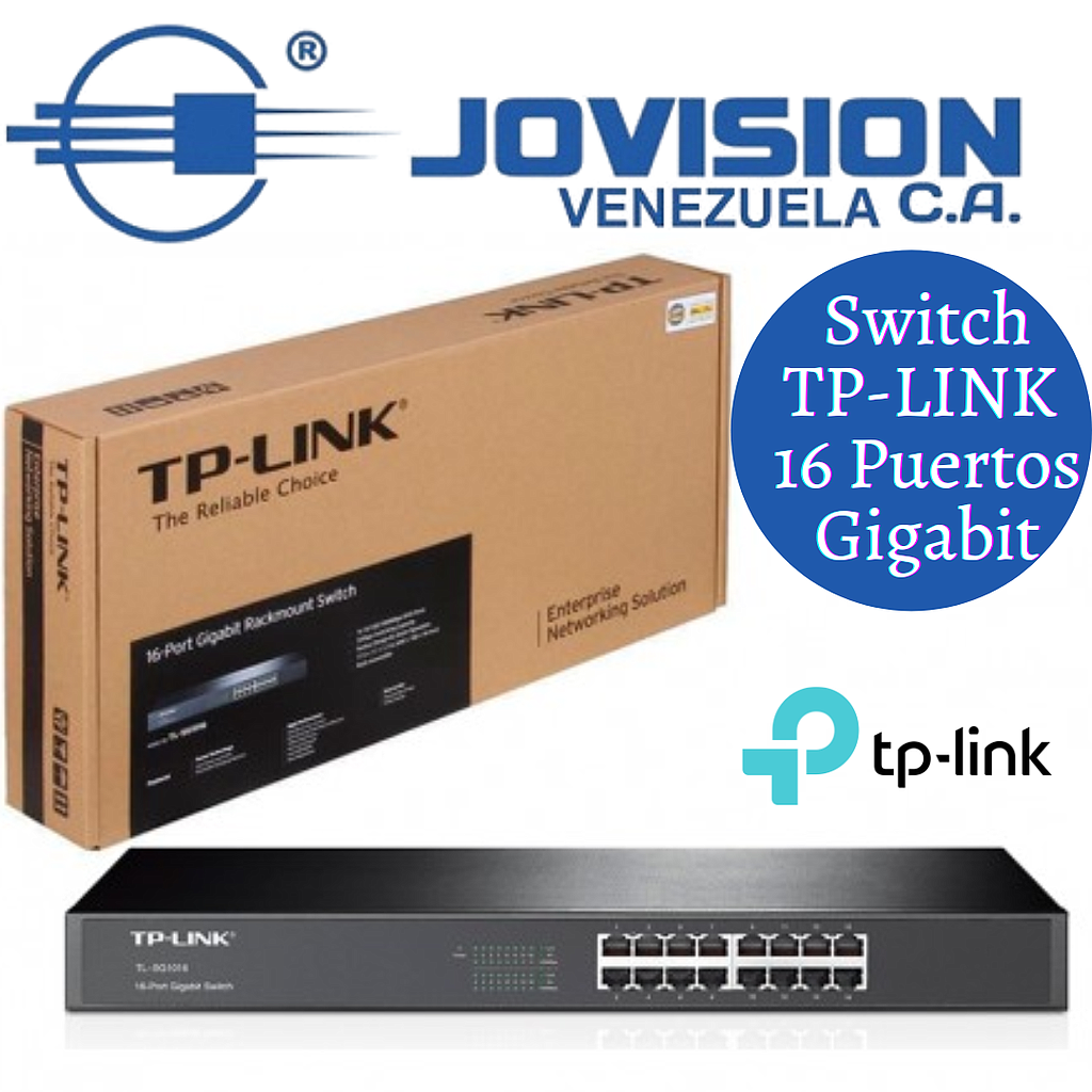 SWITCH 24 PUERTOS 10/100MBPS TP-LINK