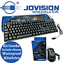 kit Teclado + Mouse USB 2.0 Waterproof Negro